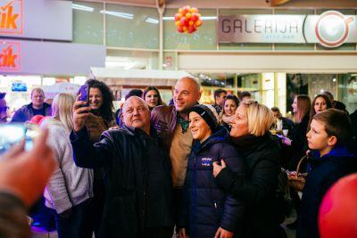 Cjelodnevnu odličnu atmosferu upotpunio je i Rene Bitorajac koji je također stigao na proslavu godišnjice :) #GalerijaSjever