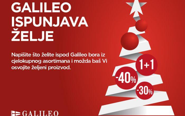 Galileo u Galeriji Sjever ispunjava sve želje