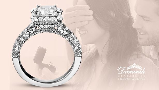 Dominik Srebrnarnice predstavljaju novu kolekciju zaručničkog prstenja