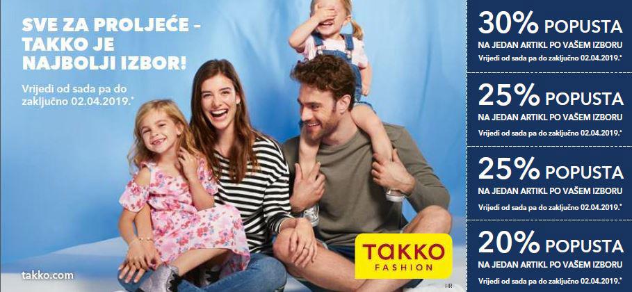 Kuponi u Takko Fashion - 21.3.2019.
